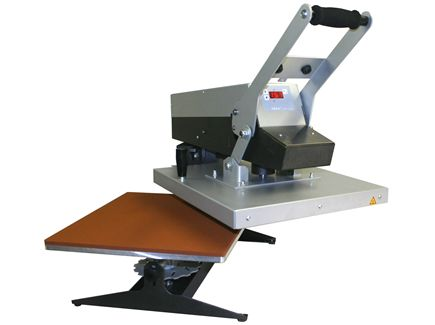 Plancha manual de apertura lateral Plato de 400x500mm - ROTEX RM