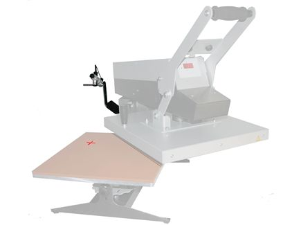 Plancha manual de apertura lateral Plato de 400x500mm - 03.1ROTEX RM LASER