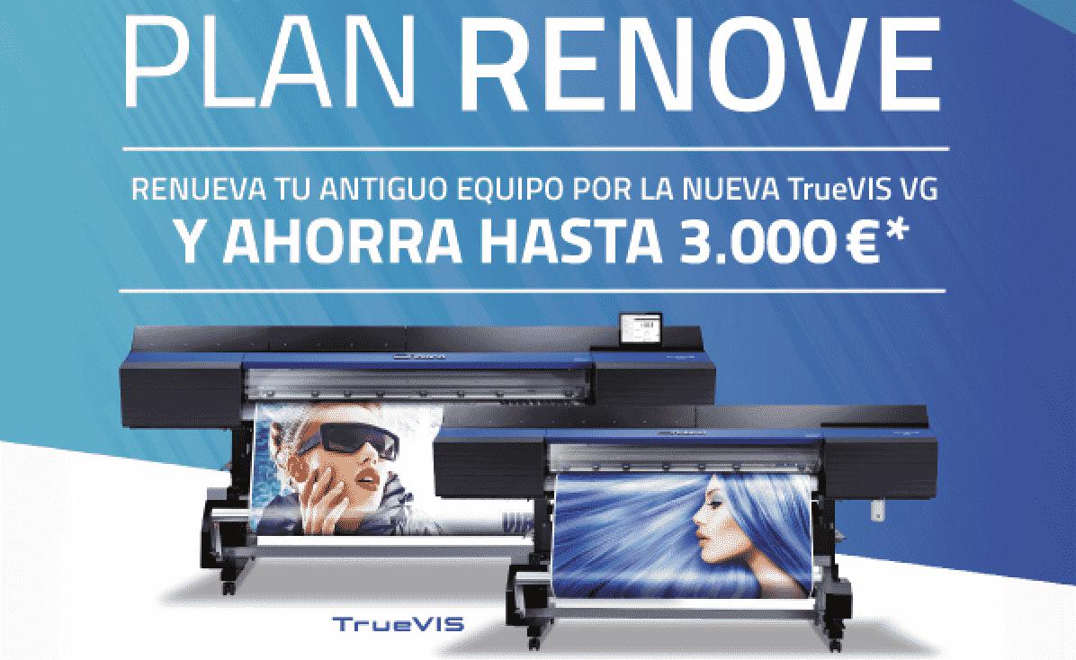 Plan Renove Roland TRUE VIS